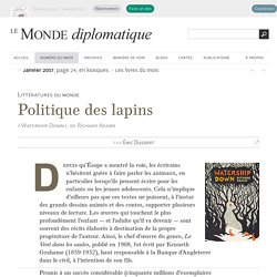 Watership Down (Le Monde diplomatique)