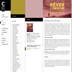 Rêver l'obscur - Femmes, magie et politique - Editions Cambourakis