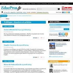 Politique - Educpros.fr