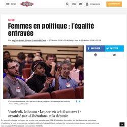 Femmes en politique : l'égalité entravée