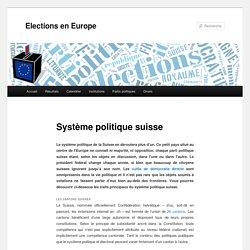 Système politique suisse - Elections en EuropeElections en Europe
