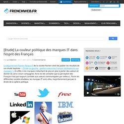 [Etude] La couleur politique des marques IT dans l'esprit des Français