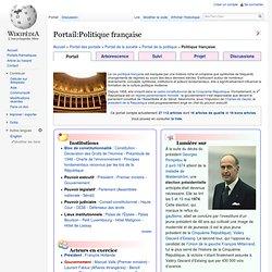 Portail:Politique française
