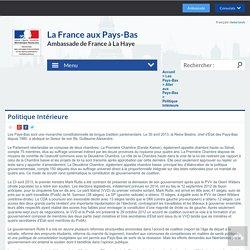 Politique Intérieure - Frankrijk in Nederland/ La France aux Pays-Bas