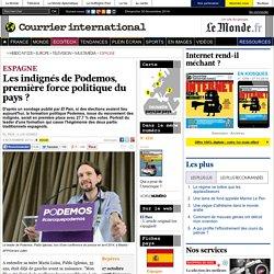 Les indignés de Podemos, première force politique du pays