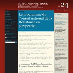 Histoire@Politique n°24 : Le dossier : Introduction