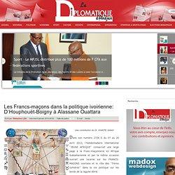 Francs-maçons d'Houphouët-Boigny à Ouattara