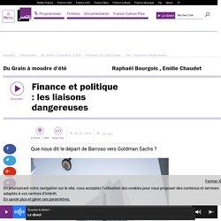 Finance et politique : les liaisons dangereuses