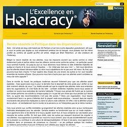 Rendre obsolète la Politique dans les Organisations avec l'holacratie