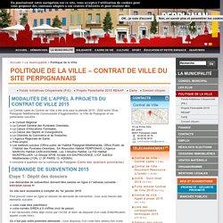 Politique de la Ville – Contrat de Ville du site perpignanais