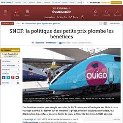 SNCF: la politique des petits prix plombe les bénéfices