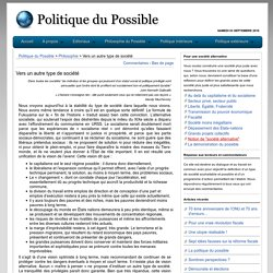Politique du Possible
