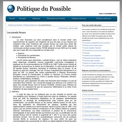 Politique du Possible
