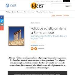 Politique et religion dans la Rome antique