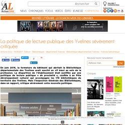 La politique de lecture publique des Yvelines sévèrement critiquée