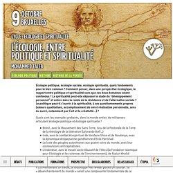 L'écologie, entre politique et spiritualité