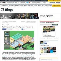 Politiquement incorrect, ludiquement très correct - Playtime - Blog LeMonde.fr