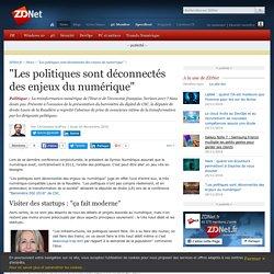 """""""Les politiques sont déconnectés des enjeux du numérique"""" - ZDNet"""