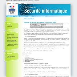 Politiques de sécurité des systèmes d'information (PSSI)