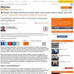 Internet : les politiques français seront au niveau en 2012