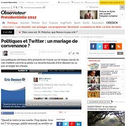 Politiques et Twitter : un mariage de convenance ? - Politique