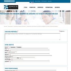 Sciences Politiques Toulouse - Préparation aux concours internes de catégorie A et B de la Fonction Publique