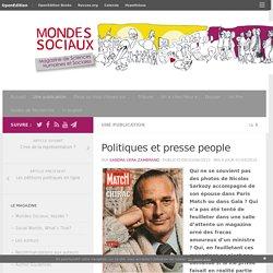 Politiques et presse people – Mondes Sociaux