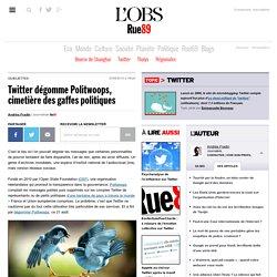 Twitter dégomme Politwoops, cimetière des gaffes politiques