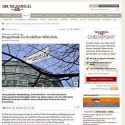Polizeieinsatz am Bücherregal: Drogenhandel in Neuköllner Bibliothek