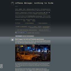 Mark Duggan hat nicht auf Polizisten geschossen