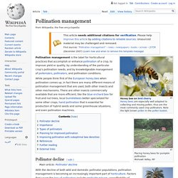 EN_WIKIPEDIA - Pollination management.