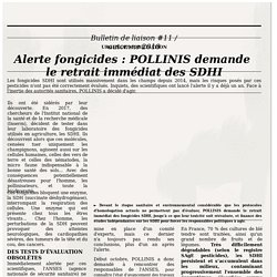 POLLINIS - bulletin d'informations Automne 2018