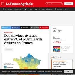 FRANCE AGRICOLE 22/11/16 Pollinisateurs - Des services évalués entre 2,3 et 5,3 milliards d'euros en France