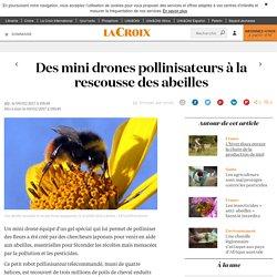 LA CROIX 09/02/17 Des mini drones pollinisateurs à la rescousse des abeilles