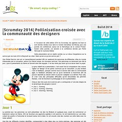 [Scrumday 2014] Pollinisation croisée avec la communauté des designers