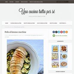 Pollo al limone e zucchine