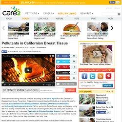 Pollutants in Californian Breast Tissue