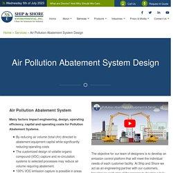 Pollution Abatement Equipment