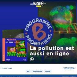 La pollution est aussi en ligne - Programme B - Binge Audio