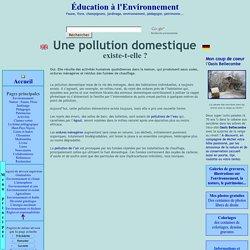 Une pollution domestique existe-elle ?