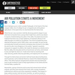 Air Pollution Starts a Movement
