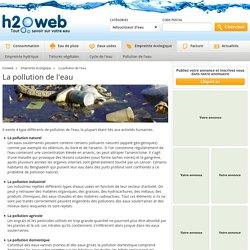 Pollution de l'eau : les différents types de pollution
