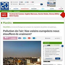 Pollution de l'air: Nos voisins européens nous étouffent-ils vraiment?