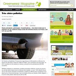 Très chère pollution - Greenweez Magazine