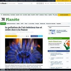 La pollution de l'air intérieur tue et coûte cher à la France