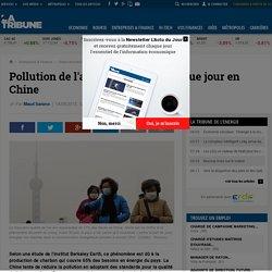 Pollution de l'air : 4.000 morts chaque jour en Chine