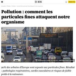 Pollution : comment les particules fines attaquent notre organisme - 16 octobre 2013