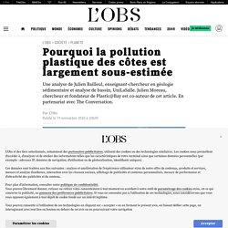 19 nov. 2020 Pourquoi la pollution plastique des côtes est largementsous-estimée