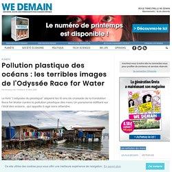 Pollution plastique des océans : les terribles images de l'Odyssée Race for Water