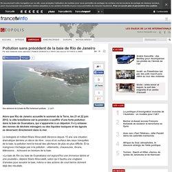 Pollution sans précédent de la baie de Rio de Janeiro